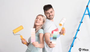 kombinasi warna cat rumah