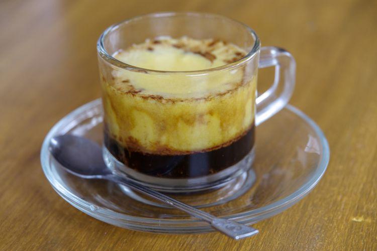 jamu kopi hitam telur madu