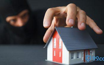 kondisi rumah anti-maling