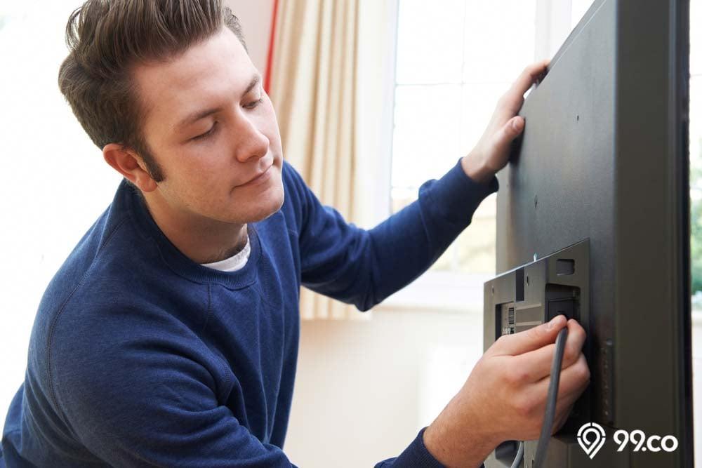 cara menghubungkan hp ke tv pakai kabel data
