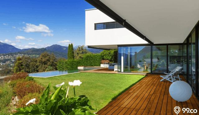 konsep rumah mewah minimalis