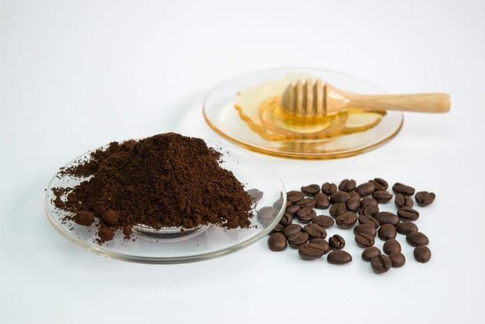 masker kopi dan madu