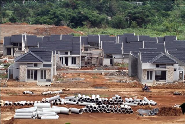 proyek pembangunan rumah