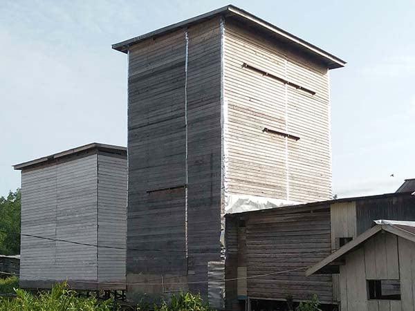 ukuran gedung walet