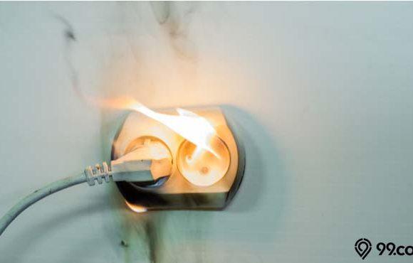 cara mengatasi korsleting listrik