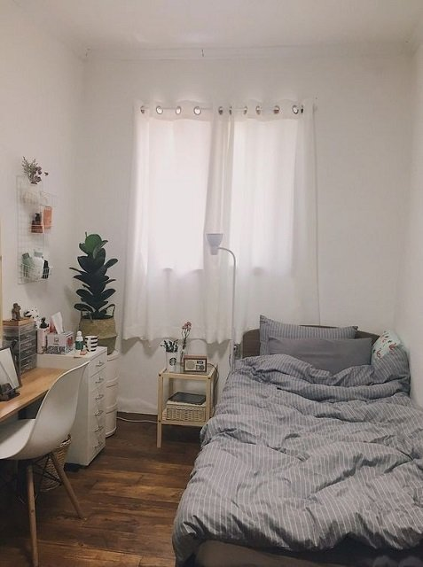 desain kamar kost sederhana