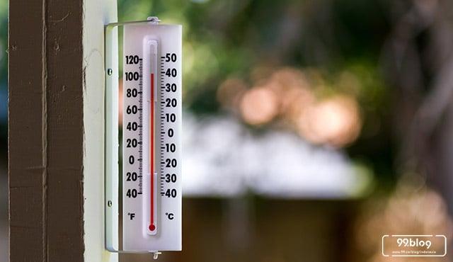 wilayah dengan suhu tertinggi