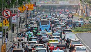 kota termacet di indonesia