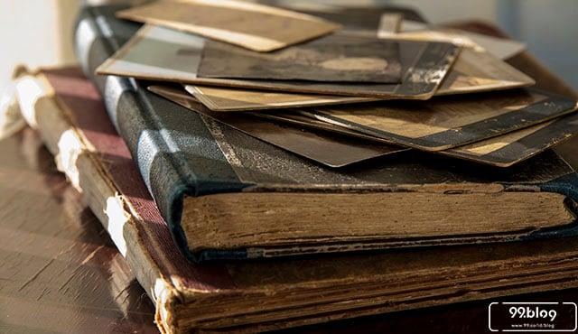 kreasi buku bekas