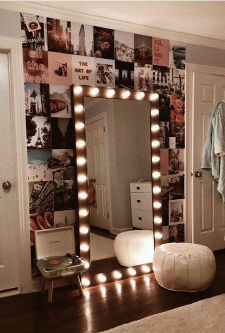 lampu cermin rias