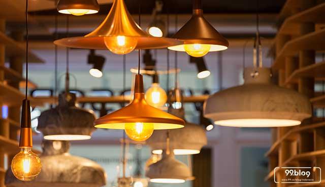 7 Inspirasi Lampu Gantung Ruang Tamu Tercantik Glamor