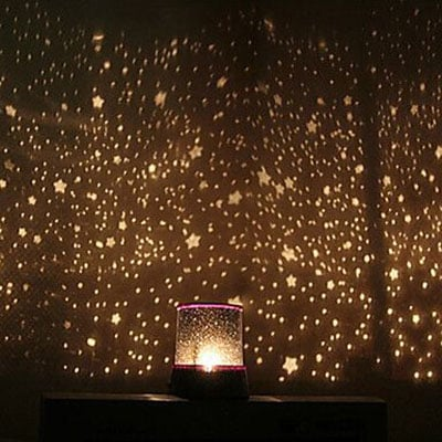 lampu hias kamar proyektor bintang