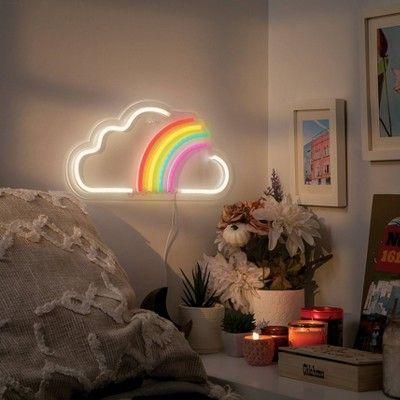 lampu led neon awan