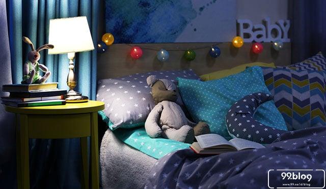 lampu tidur unik