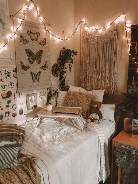 lampu tumblr kamar tidur