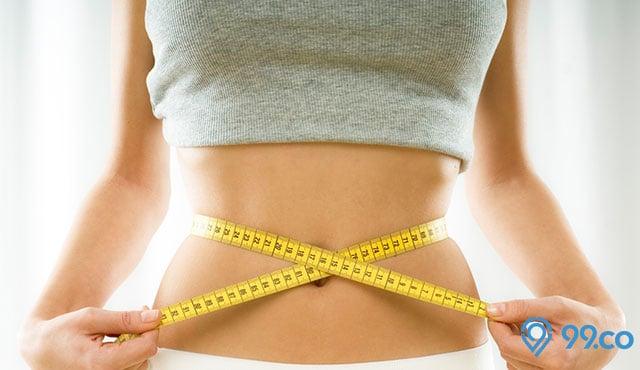 perut langsing dengan cara diet alami