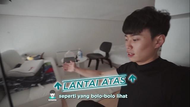 lantai 2 apartemen Jang Hansol