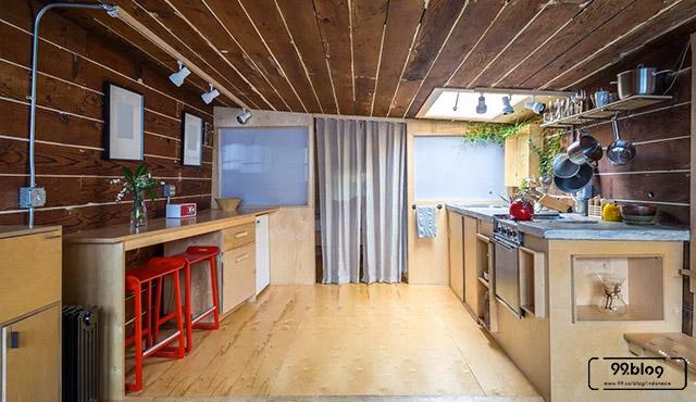 lantai dapur tradisional