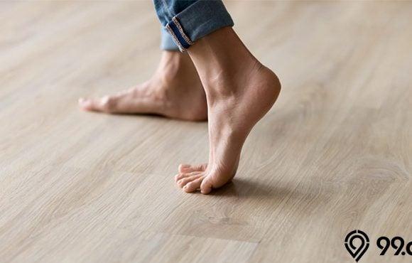 lantai kayu berdecit