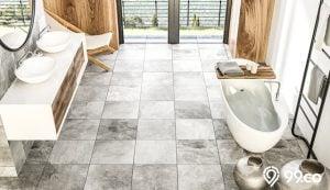 lantai tegel kamar mandi minimalis