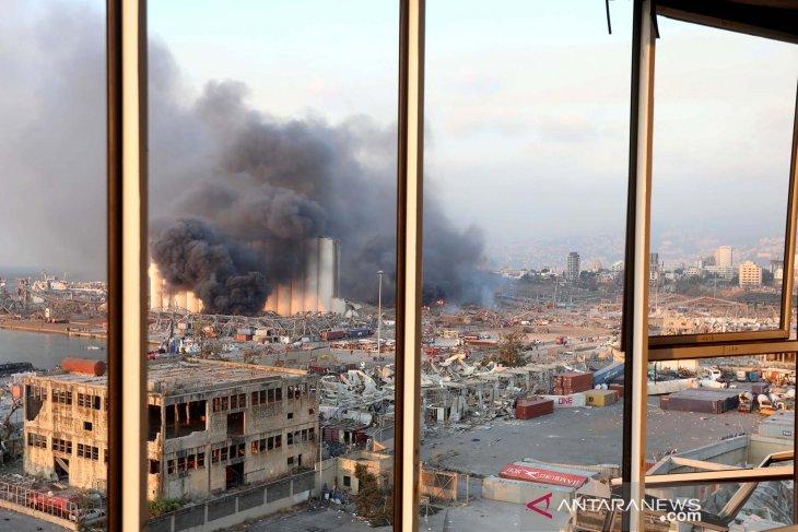 ledakan kota beirut lebanon