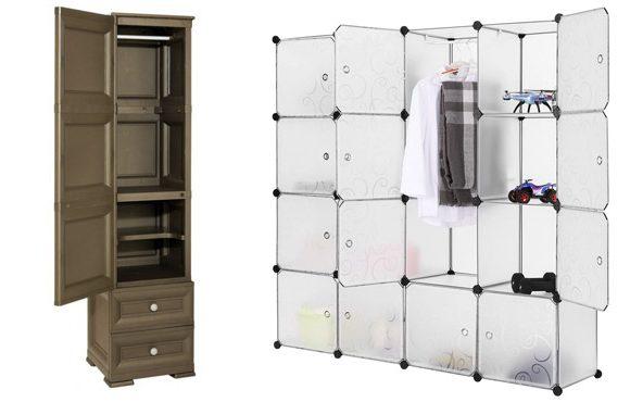 desain lemari plastik