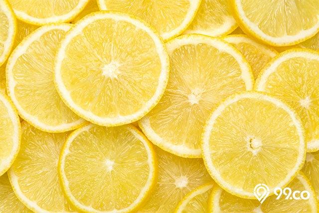 cara meluruskan rambut dengan lemon