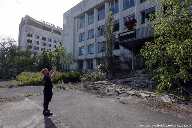 lokasi syuting chernobyl