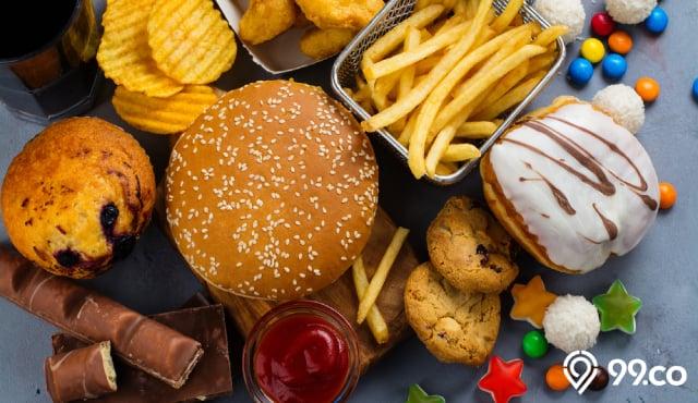 makanan penyebab kolesterol
