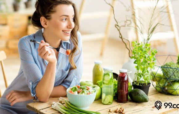 makanan sehat bikin bahagia