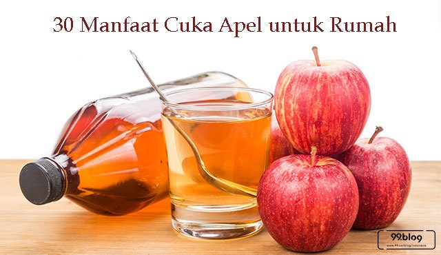 30 Manfaat Cuka Apel untuk Rumah. Mengejutkan!