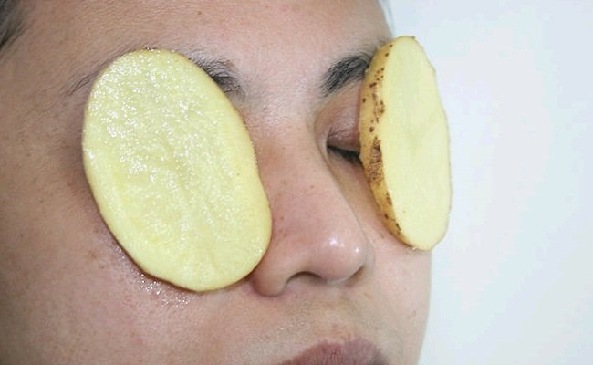manfaat kentang untuk wajah lembab