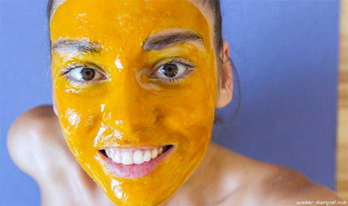 manfaat masker kunyit kuning