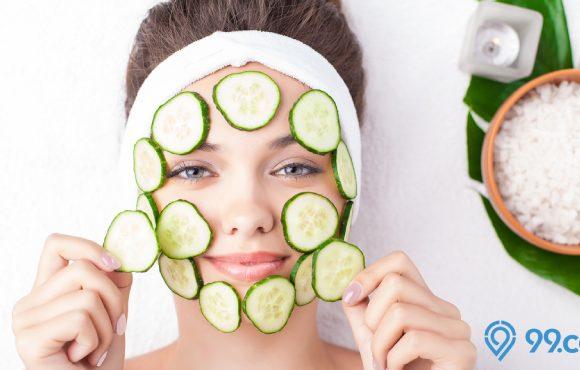 manfaat timun untuk wajah