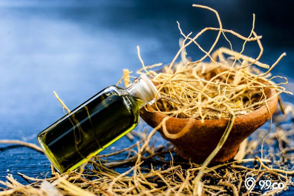 manfaat akar wangi untuk parfum