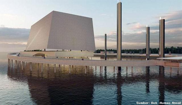 Masjid Apung Pertama Jakarta Akan Segera Dibangun. Kayak Apa Ya Desainnya?