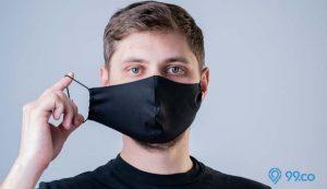 cara uji kualitas masker kain