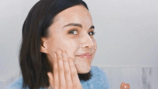 masker kedelai untuk wajah