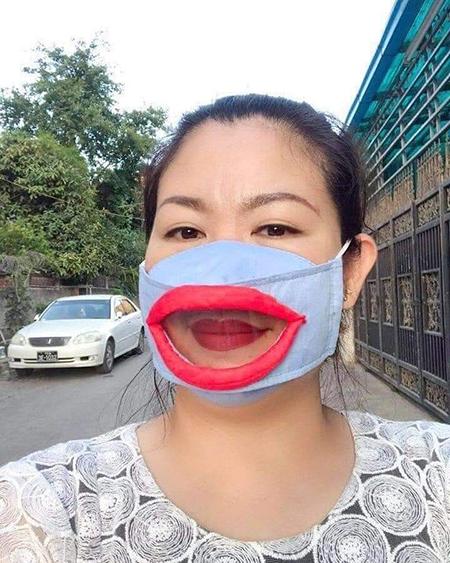 masker lucu