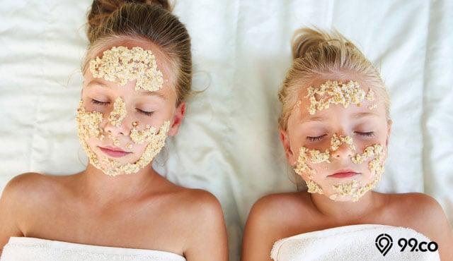 7 Cara Membuat Masker Oatmeal Bisa Bikin Wajah Sehat Glowing