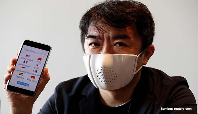 Jepang Adaptasi Teknologi Robot ke Dalam Masker Pintar | Bisa Translate 8 Bahasa!