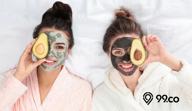 7 Masker Wajah Alami untuk Kulit Kusam, Jerawat, dan Kering. Bikin Glowing!