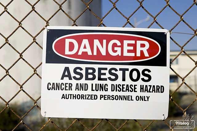bahaya asbes