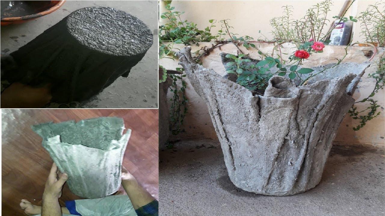 cara membuat pot sederhana