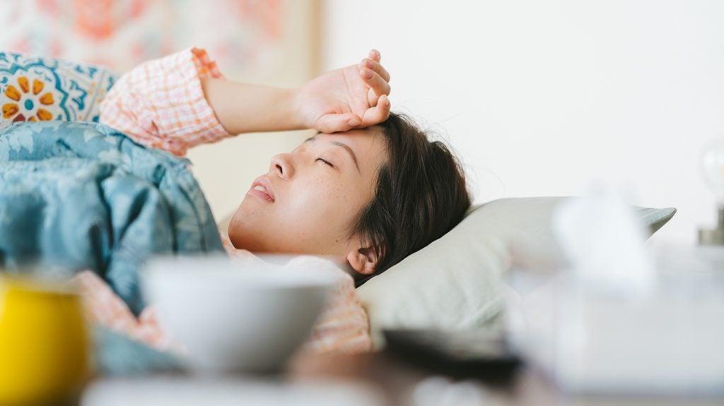 demam gejala paru paru basah