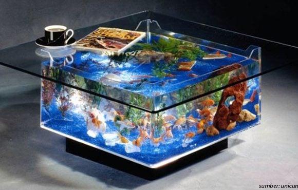 Meja Akuarium