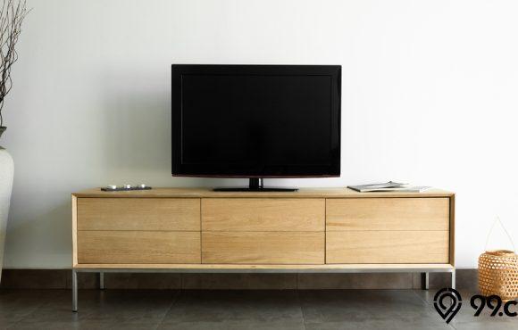 meja kayu tv