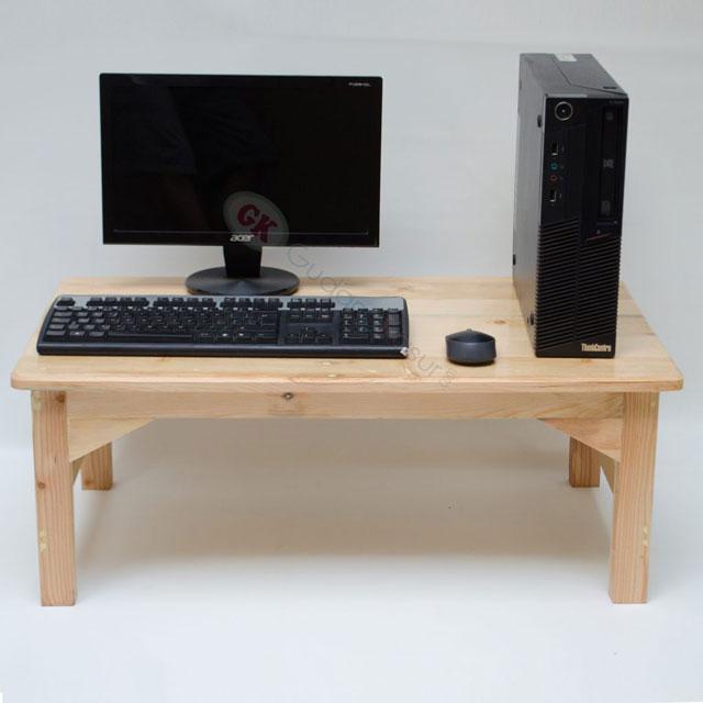 meja lesehan komputer