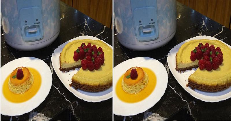 membuat kue pakai rice cooker
