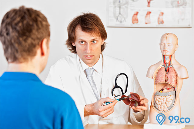 periksa hati ke dokter
